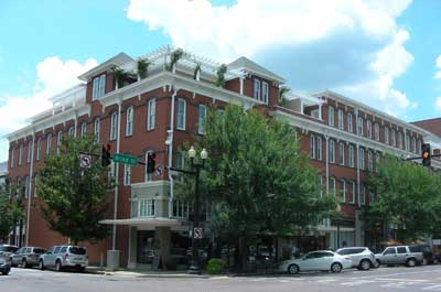 The Mitchell House, mixed use development in downtown Thomasville.