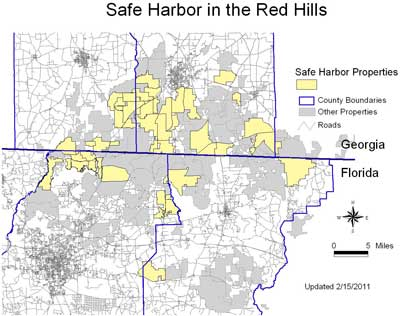 Safe Harbor in the Red Hills