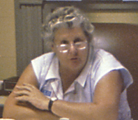 Miss Kate Ireland leading the Red Hills Consortium meeting, 1990.