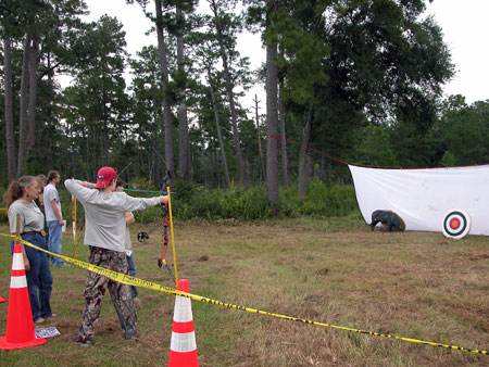 2009  YHFD Archery station