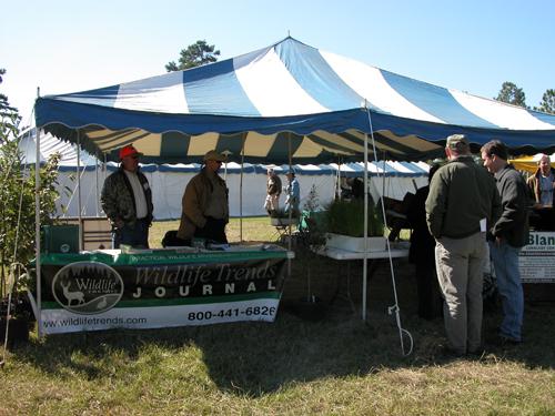 Sponsors tent