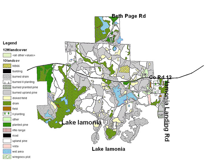 2012 Tall Timbers Land Cover map