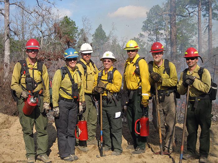 Prescribed Fire Training Ctr-Jan 2013 class