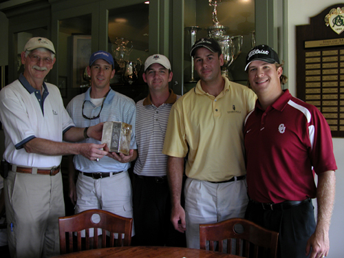 2008 Golf Tournament Winners