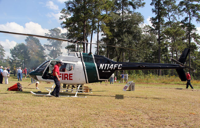 Florida Forest Service Fire Helicopter