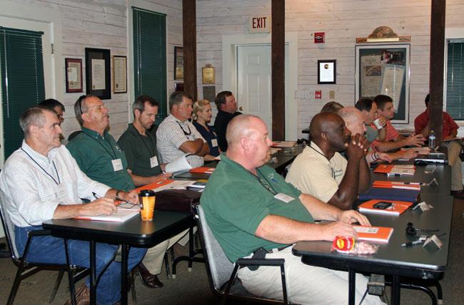 Fire Summit II attendees