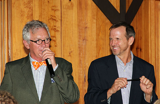 Auctioneer and Bill Palmer
