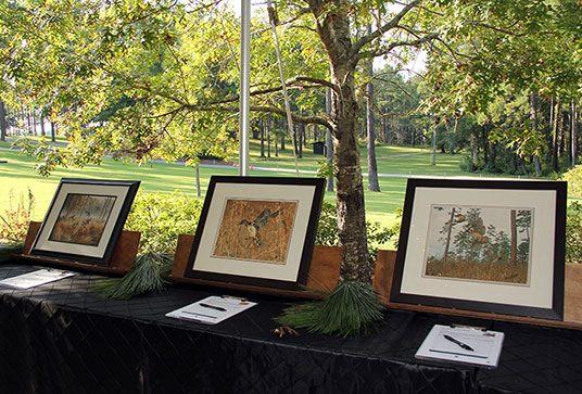 Paintings in Silent Auction
