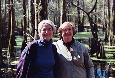 Sisters Jane Preyer and Kathleen Scott