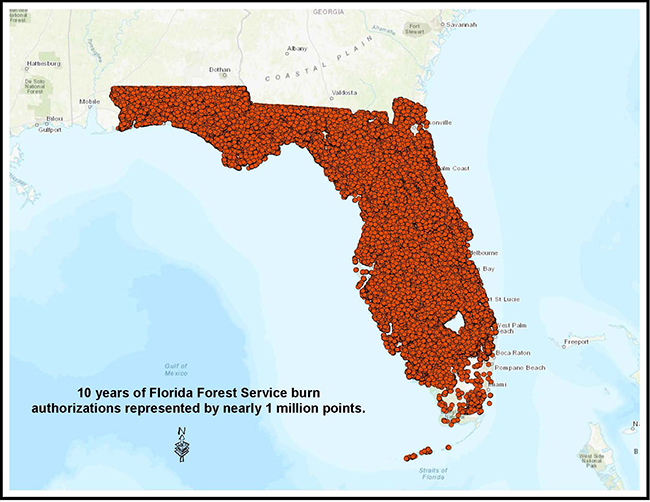 Florida Fire Map