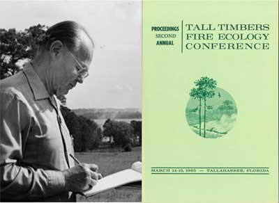 E.V. Komarek, TTRS Executive Secretary 1958-1979, and Conference Chairman of the Tall Timbers Fire Ecology Conferences #1-15 1955-1962.
