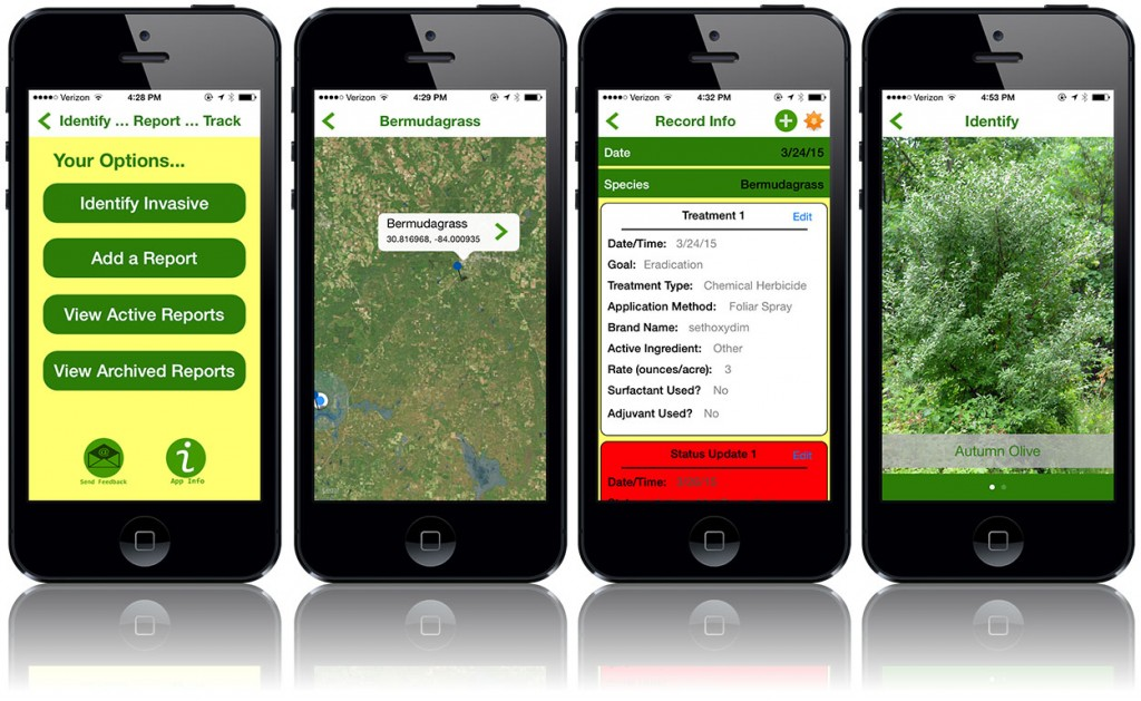 Invasive Tracker Screen Shots