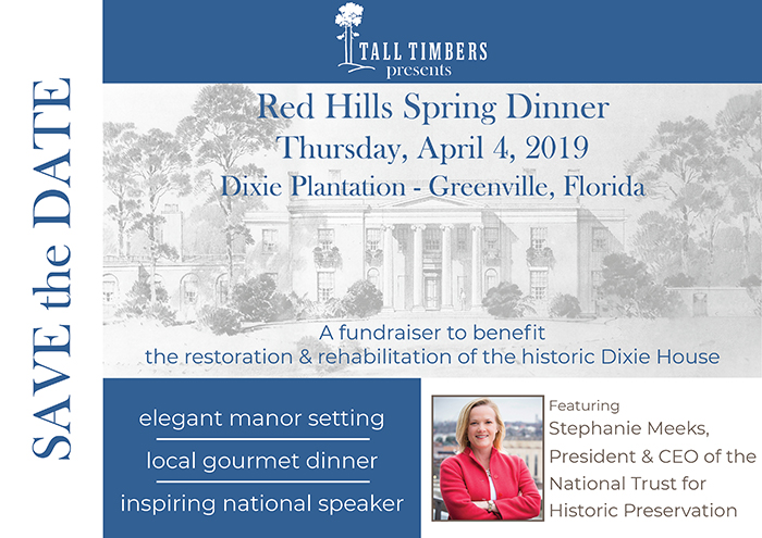 Red Hills Spring Dinner - Tall Timbers