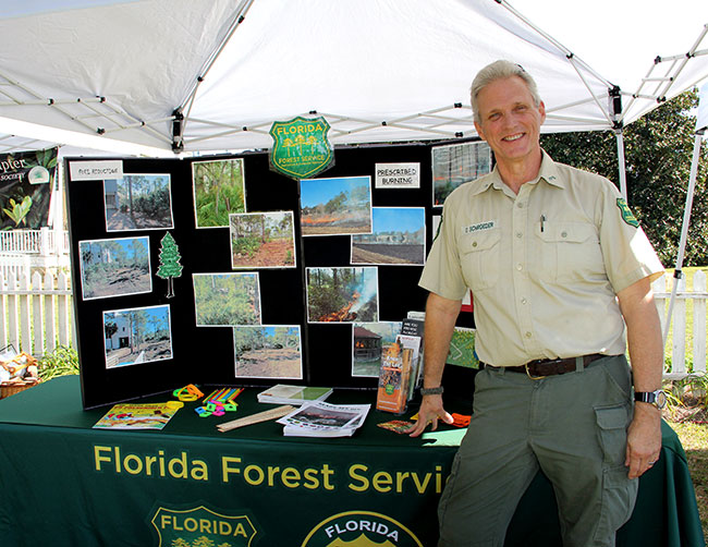 Florida Forest Service Display