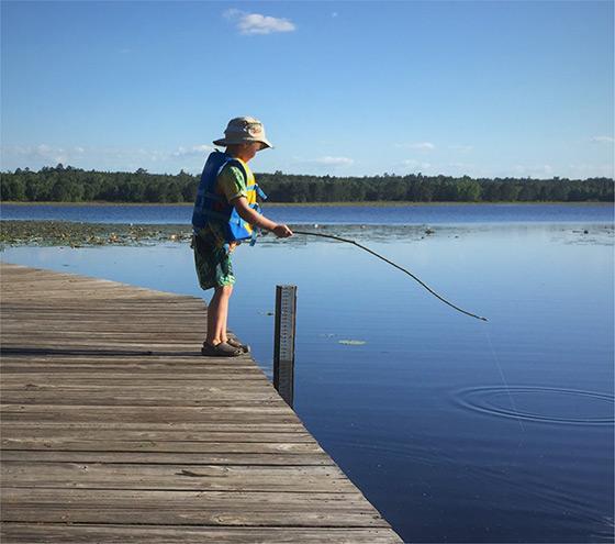 Little Boy Fishing