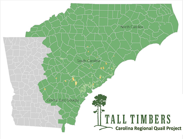 Tall Timbers Map